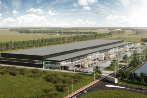 Schiphol krijgt distributiecentrum AMS Cargo Center II