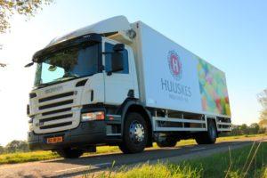 Huuskes reduceert fors aantal kilometers met oude logistieke oplossing