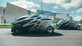 Mercedes onthult autonoom voertuig voor personen en goederen