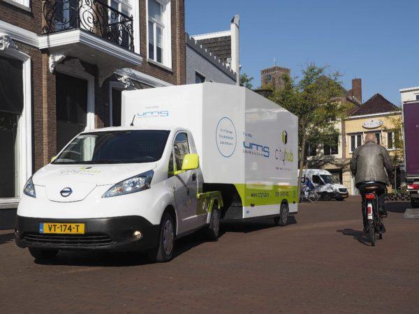 Stadsdistributie Ums Lanceert Nieuw Voertuig Logistiek