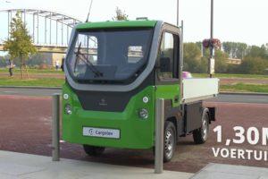 Compacte elektrische truck van Nederlandse bodem ziet levenslicht
