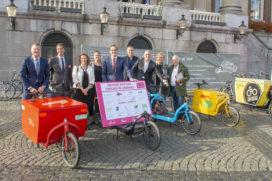 Groningen zet stap naar duurzame stadslogistiek