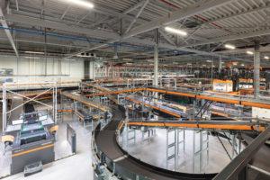 Albert Heijn imponeert met gemechaniseerd distributiecentrum