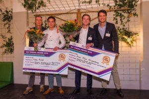 Bram Klein Kranenbarg wint SLF afstudeerprijs 2018