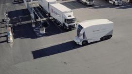 DB Schenker maakt eerste meters met autonome Einride truck