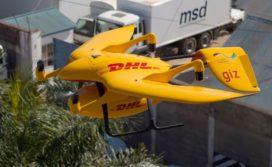 DHL bezorgt medicijnen met drone