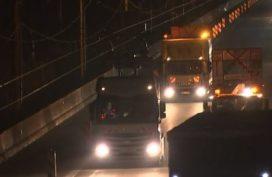 Duitsland test vrachtwagen die oplaadt tijdens het rijden