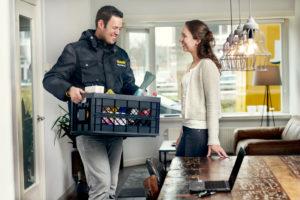 E-commerce klant positief over koelbox voor de deur