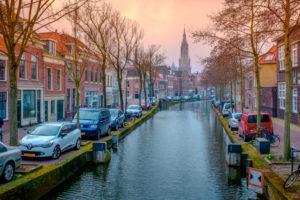 Semi-autonome binnenvaartschepen op waterstof moeten Delft verduurzamen