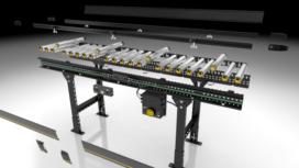 Interroll lanceert Logistiek 4.0 in rollenbanen