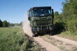 Mega contract defensie voor Scania: eerste trucks geleverd