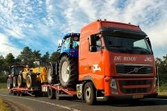 Tractorfabrikant en De Rooy besparen 9.700 lege ritten