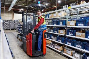 Duitse material handling sector boekt nieuw record