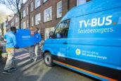 Coolblue bezorgt tv's in Rotterdam en Amsterdam elektrisch
