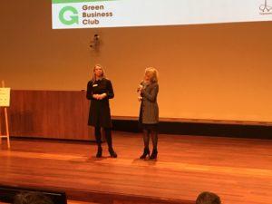 Eline Kik en Inge Diepman