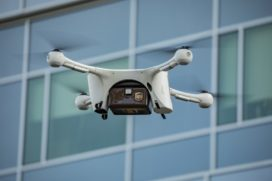 UPS mag met drones bezorgen