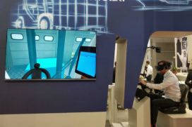 Heftruckchauffeurs DB Schenker krijgen VR training