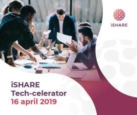iSHARE Tech-celerator: Innovatie door gewoon doen!