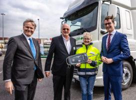 Contargo neemt eerste elektrische truck in gebruik