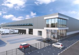DHG koopt voormalig logistiek complex Van Wanrooy Transport