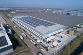 Venlo Logistics Centre verwelkomt 11.000 m2 aan zonnepanelen