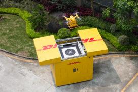 DHL Express gaat bezorgen met drone