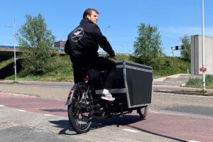 Red je Pakketje draait succesvolle pilot met elektrische fiets