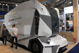 DB Schenker steelt de show met autonome T-Pod