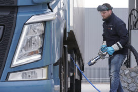 Onderzoek staaft CO2-besparing LNG-trucks