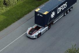 Autonome elektrische transportoplossing Vera ingezet in logistiek proces bij DFDS