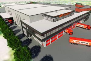 J. Heebink bouwt nieuw magazijn en kantoor langs A12