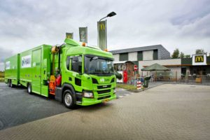 SUEZ, HAVI en Scania verduurzamen samen logistiek McDonald`s