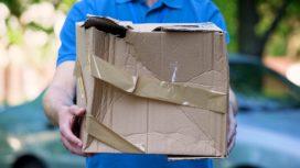 Pakketbezorgers opgepast – beschadigd pakket betekent exit