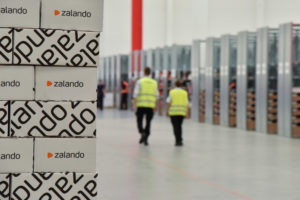 Zalando social delivery test slaat aan