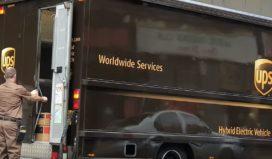 UPS nieuwste trucks schakelen automatisch over op elektrisch