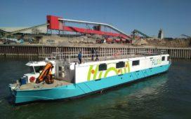 Ikea belevert online klanten in Parijs per binnenvaartschip