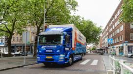 ING: In 2030 is 1 op de 4 trucks elektrisch