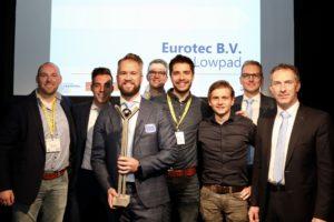 Logistica Award 2019: dubbelklapper voor Eurotec met Lowpad-AGV