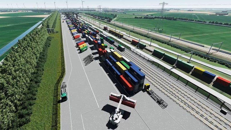 Stikstofcrisis: Railterminal Valburg en Logistiek Park Moerdijk de klos - Logistiek.nl