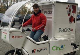Packs test emissievrije last mile met driewieler