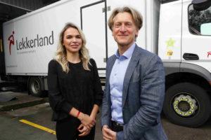 Lekkerland maakt logistiek lekker duurzaam