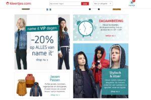 Ook Kleertjes.com wordt online platform