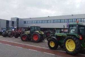 Boze boeren: 'We gaan geen distributiecentra blokkeren'