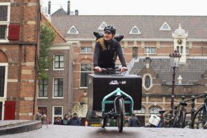 H&M bezorgt per fiets