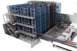 Westfort verbetert interne logistiek vrieshuis met shuttle van Inther